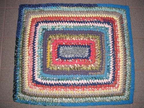 Rectangle rug by Sally - Aug 2012