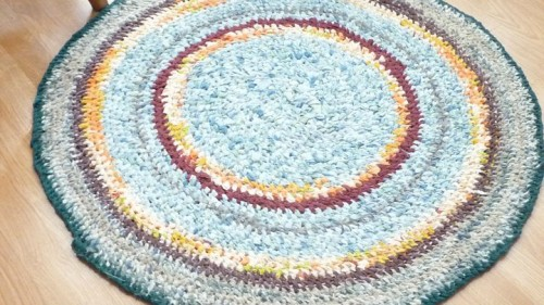 Val's Blue Rug for Daughter